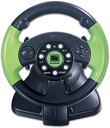 Green Lightning Racing Wheel