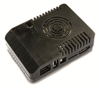 Black enclosure for ODROID-XU4