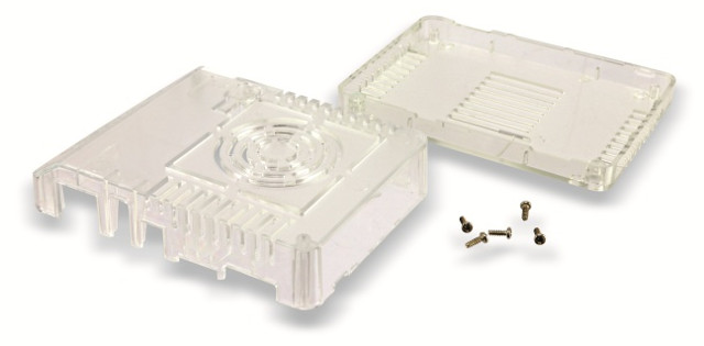 Transparent Enclosure for ODROID-XU4Q