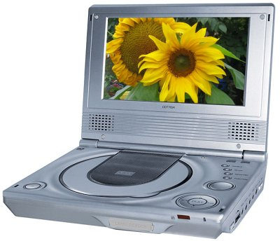 Yamada DDT765a Portable DVD Player and DVB-T TV
